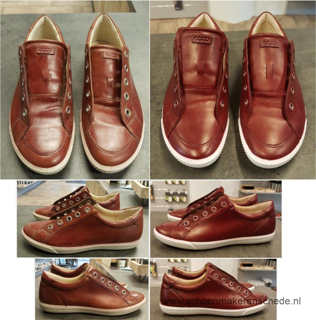 laten verven van schoenen