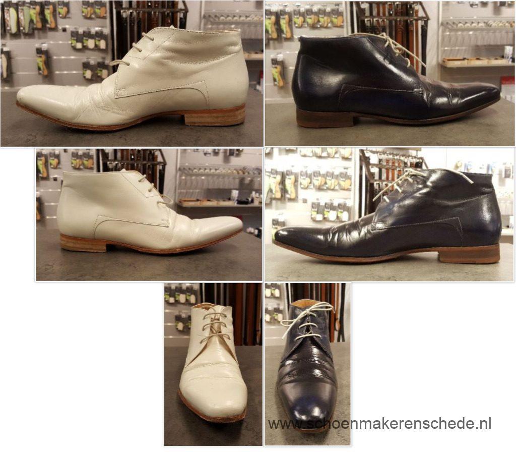 Schoenen verven, trouwschoenen
