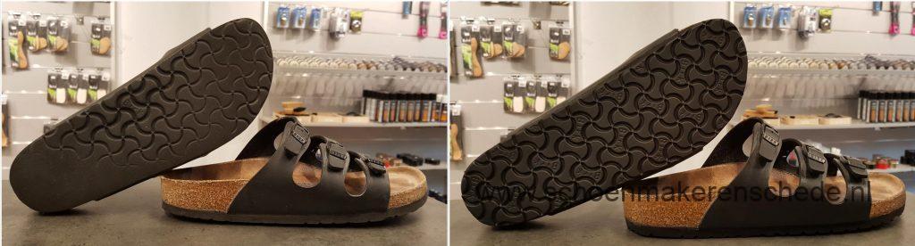Sandalen laten verzolen