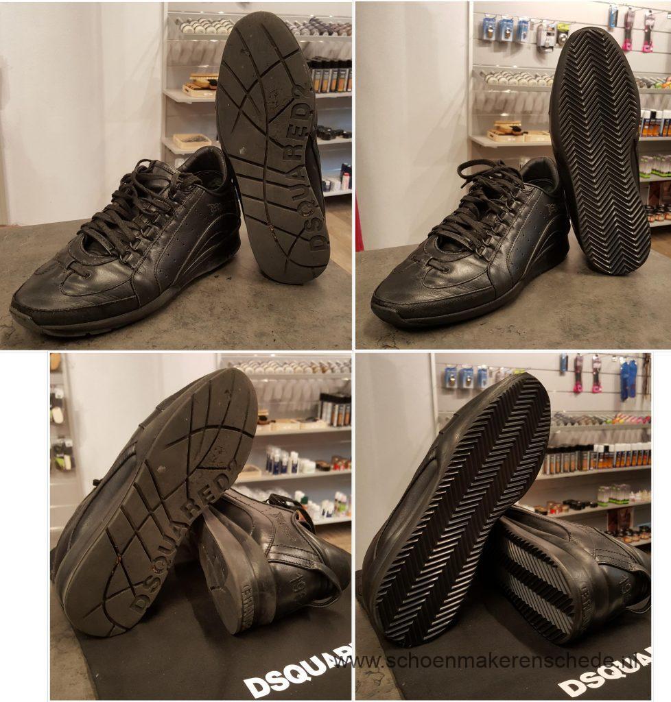 Sneakers nieuwe zolen