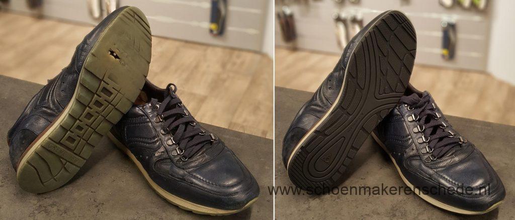 Sneakers laten verzolen