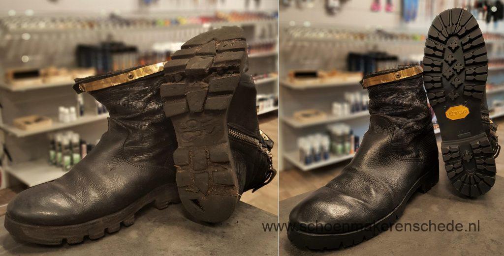 Schoenmaker Enschede - Nieuwe Vibram profielzolen