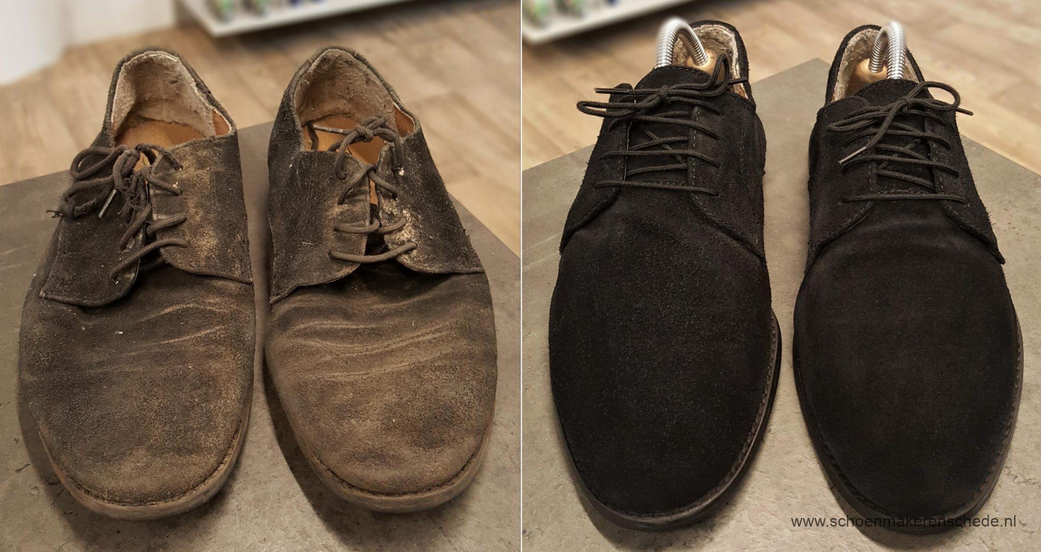 Schoenen laten poetsen – Schoenmaker Enschede
