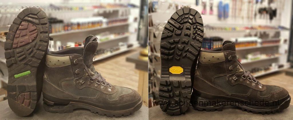 Schoenmaker Enschede - Lowa wandelschoenen Verzolen