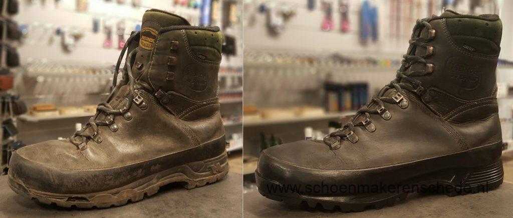 Schoenmaker Enschede - Meind Bergschoenen verzolen
