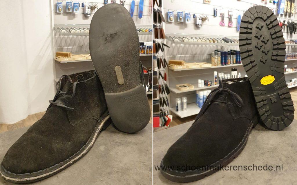 Schoenmaker Enschede - Clarks nieuwe zolen