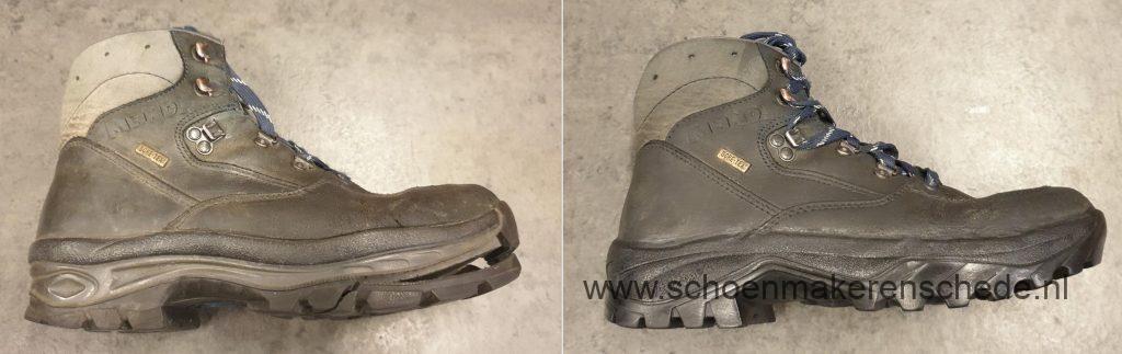 Schoenmaker Enschede - Meindl wandelschoenen nieuwe zolen