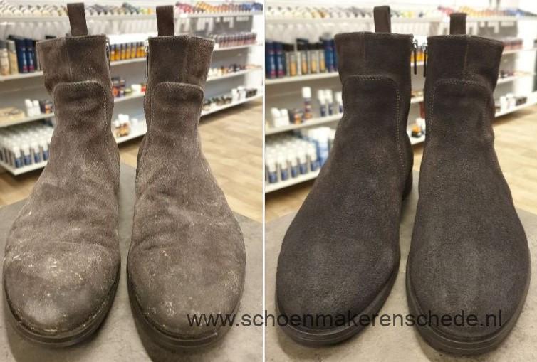 Schoenmaker Enschede - Santoni opnieuw verven
