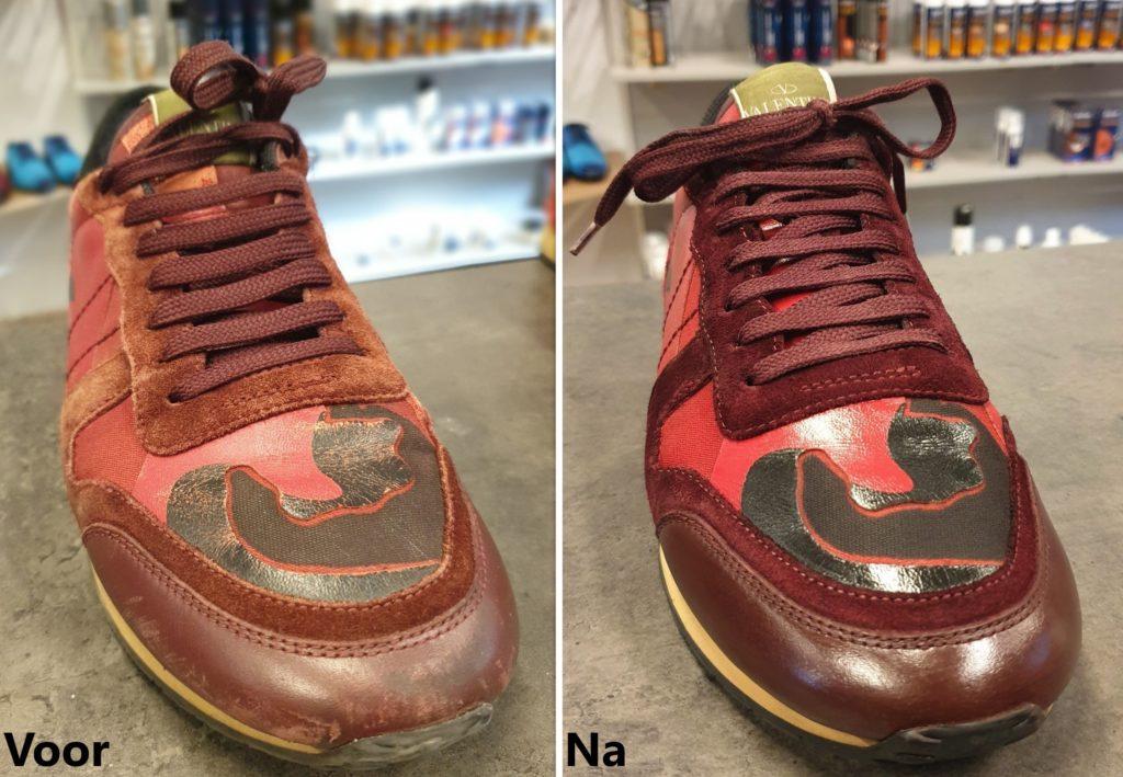 sneaker restore, sneaker herstel, sneaker verven, schoonmaken
