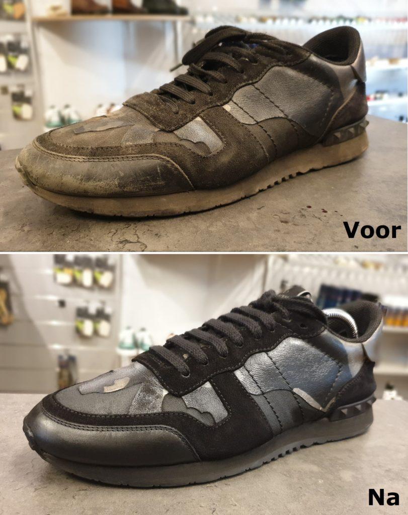 Sneaker stomen, sneaker laten verven